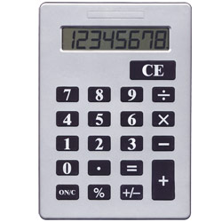 Jumbo 8-Digit Desktop Calculator Price: $18.80