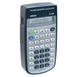 Orion T136X Talking Scientific Calculator Price: $249.00