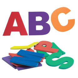 Magnetic Jumbo Letters - 26 Upper Case Price: $39.95