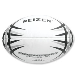 Reizen RockStar Rugby Ball with Bells