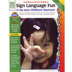Sign Language Fun in the Early Childhood Classroom