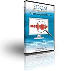 iZoom Screen Magnifier-Reader- CD Version