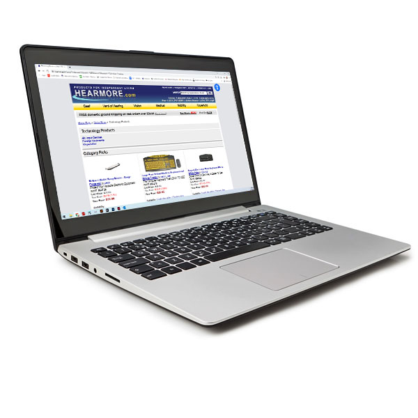 Notebook Computer and Screen Reader Software-17.3-in