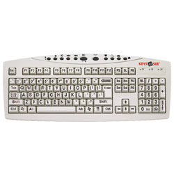 Keys-U-See Keyboard - Ivory Keys with Black Print Price: $29.95