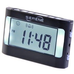 Serene Vibrating Alarm Clock Price: $49.50