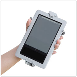 Zelco e-Book Cradle with Hands Free Reading Stand and Adj Velcro Strap - click to view larger image