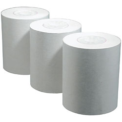 Black Print Thermal TTY Paper 3 Roll Pack