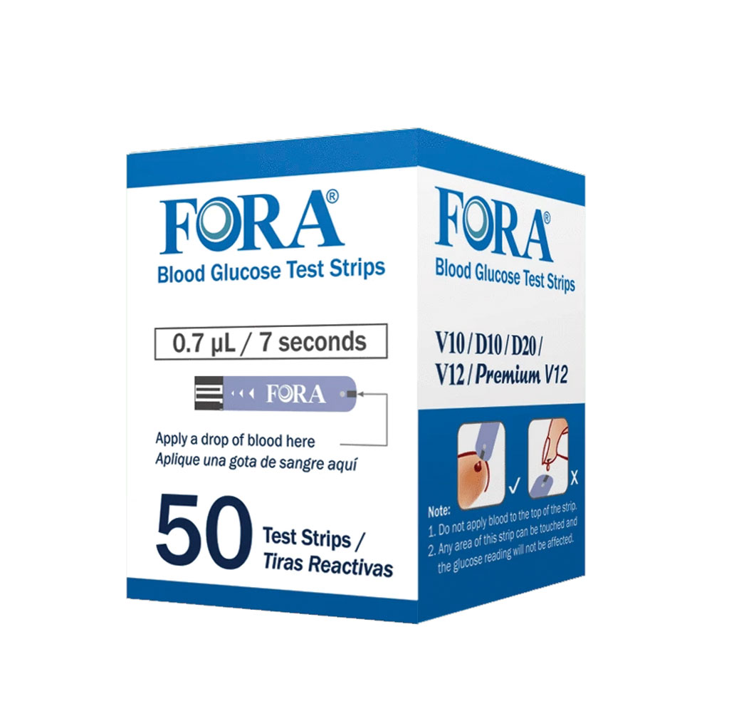 Blood Glucose Test strips - 50 count