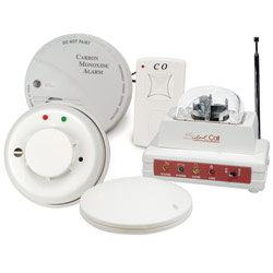Carbon Monoxide and Smoke Detector with Strobe-Vibrator Combo Price: $459.95