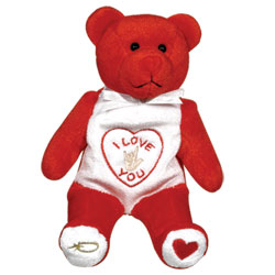 I Love You Plush Bear (Red) Price: $12.95