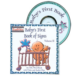 Babys First Book of Signs- An ASL Word Book -Volume 2