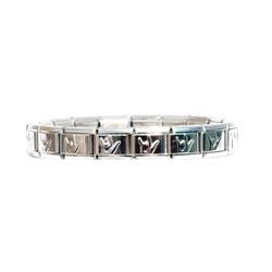 Italian Charm Puffed ILY Bracelet Price: $19.99