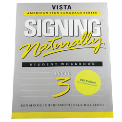 Signing Naturally-Level 3 (Workbook and DVD) Price: $79.95