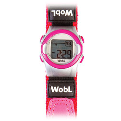 6-Alarm Vibrating Watch for Women and Children: Pink Band Price: $32.00