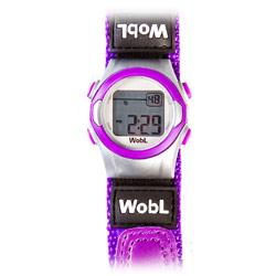 WobL 8-Alarm Vibrating Reminder Watch- Purple