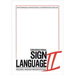 Conversational Sign Language II Price: $17.95