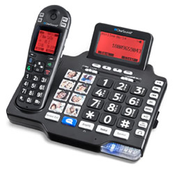 Clearsounds A1600 Amplified Cordless Phone: 125dB Price: $186.74