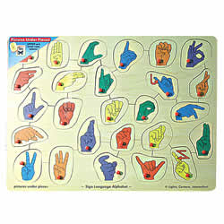 Pictures Under Pieces Peg Puzzle Price: $19.95