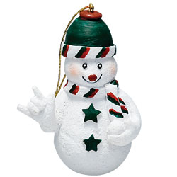 Snowman Ornament Price: $11.65