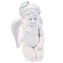 Angel Cherub Holiday Ornament Price: $11.65