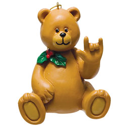 Boy Bear Holiday Ornament Price: $11.65
