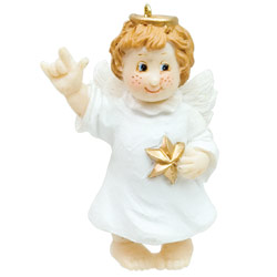 Little Angel ILY Ornament Price: $11.65
