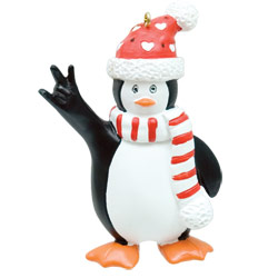 Mr. Penguin Ornament Price: $11.65