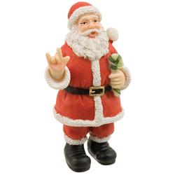 Signing Santa ILY Figurine - 4-in Price: $13.95