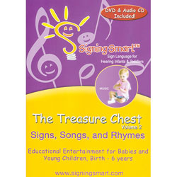 The Treasure Chest: Signs, Songs and Rhymes DVD Price: $19.99