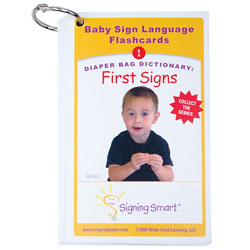 Diaper Bag Dictionary: First Signs Teaching Cards Price: $11.99