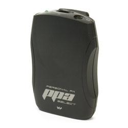 Williams Sound PPA Select FM Receiver:Clip/Bat/Ear Price: $121.00