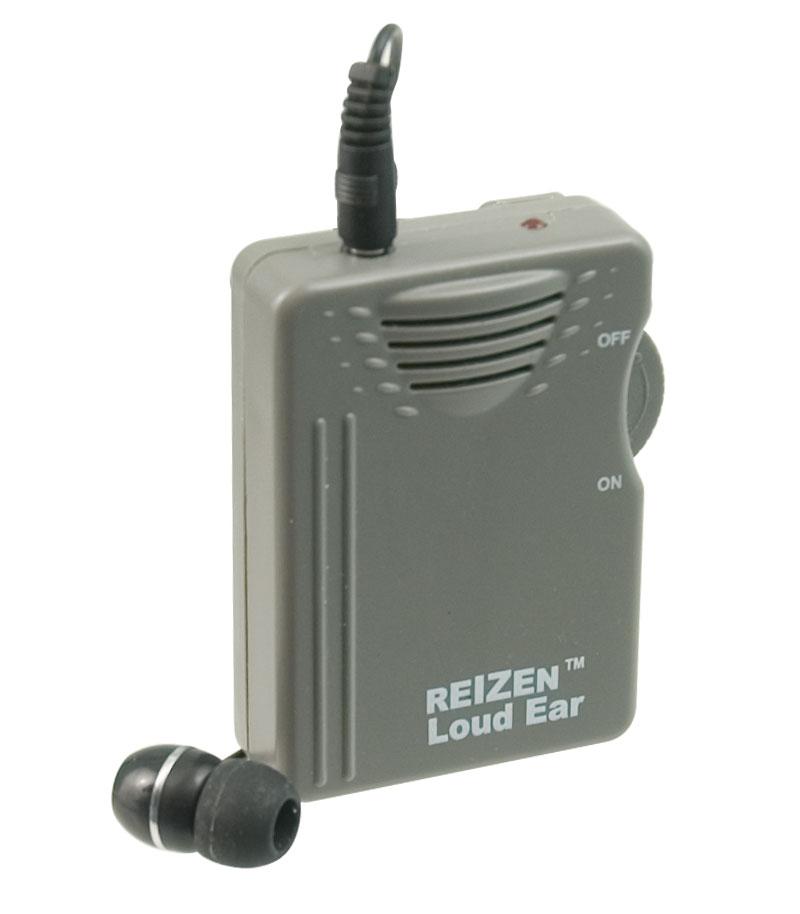 Reizen Loud Ear 120dB Gain Personal Amplifier Price: $29.95