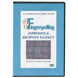 Fingerspelling: Expressive and Receptive Fluency (DVD) Price: $29.95