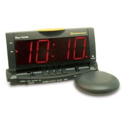 Wake Assure Alarm Clock with Bed Shaker