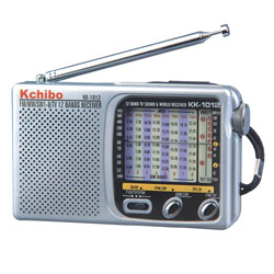 12 Band AM-FM- Long Wave-Short Wave Portable Pocket Radio Price: $17.95