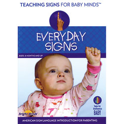 Everyday Signs For Your Baby DVD Training Video Price: $24.95