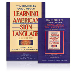 Learning American Sign Language - Levels I and II, Beginning and Intermediate (Book and DVD) Price: $149.33