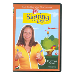 Signing Time Vol. 2 - Playtime Signs (DVD) Price: $19.69