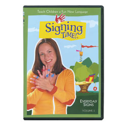 Signing Time Vol. 3 - Everyday Signs (DVD) Price: $19.69