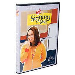 Time to Eat, Signing Times DVD Volume 12