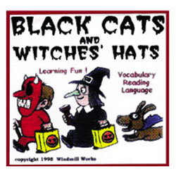 Black Cats and Witches Hats -Floppy Diskettes