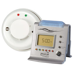 Silent Call Sidekick II Receiver - Smoke Detector, 318 Mhz - click to view larger image