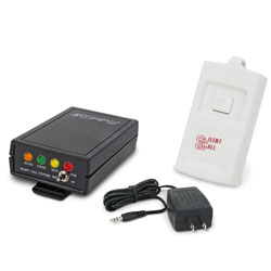 Personal Paging System for Multiple Locations- Kit 2 -Transmitter, Pager, Battery Charger