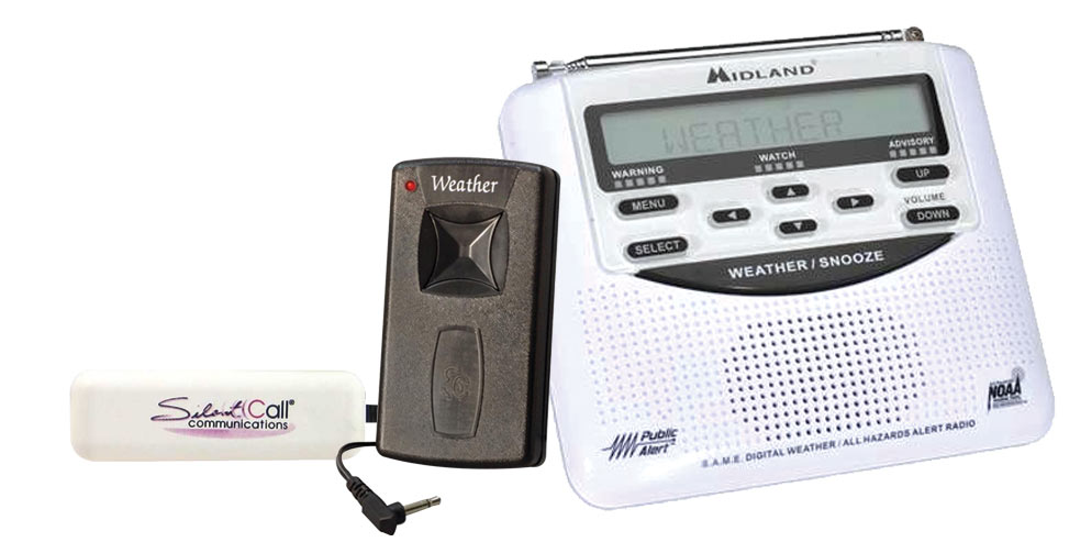 Midland Alert Weather Radio with Vibrator Price: $107.00