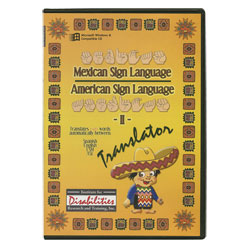 Mexican Sign Language ASL Translator (CDRom) Price: $19.95