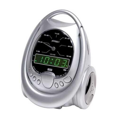 Global Access 4 Alarm Clock with Reizen Bedshaker