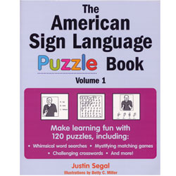 The American Sign Language Puzzle Book - click to view larger image