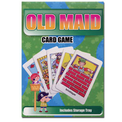Old Maid Flash Card Matching Game - Braille