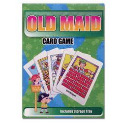 Old Maid Classic Flash Card Matching Game - click to view larger image
