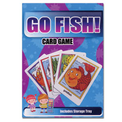 Go Fish Flash Cards - Classic Matching Card Game - click to view larger image